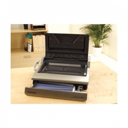 Fellowes Galaxy E 130 Wire Binding Machine with Starter Kit