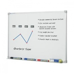 1500x1200mm - Penrite Premium Magnetic Whiteboard