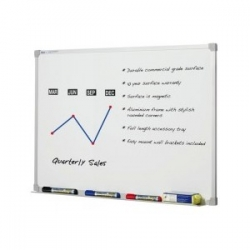 1500x900mm - Penrite Premium Magnetic Whiteboard