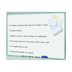 2400x1200mm - Penrite Porcelain Magnetic Whiteboard