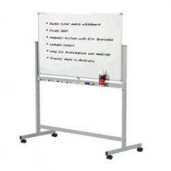 1800x900mm - Penrite Mobile Magnetic Whiteboard