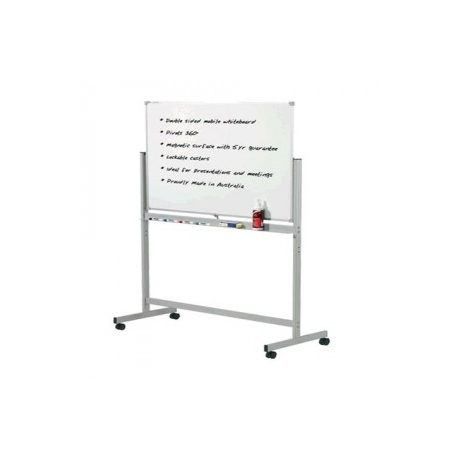 1500x900mm - Penrite Mobile Magnetic Whiteboard