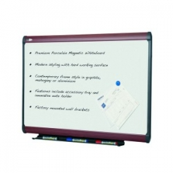 1200x915mm - Mahogany Magnetic Whiteboard