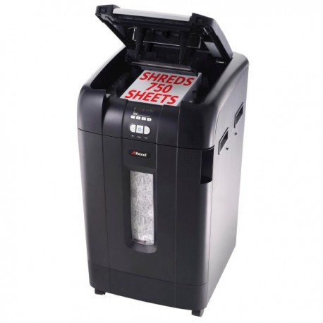 Rexel Stack & Shred Auto+750 Large Office Shredder